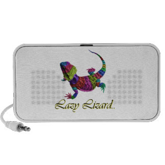 Rainbow lizard portable speakers
