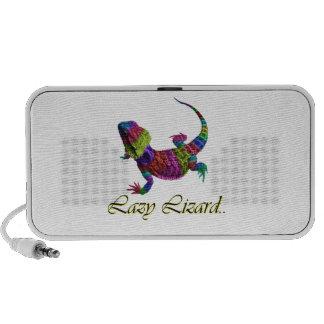 Rainbow lizard speaker