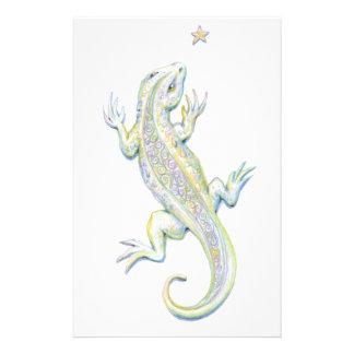 Rainbow Lizard Stationery Paper