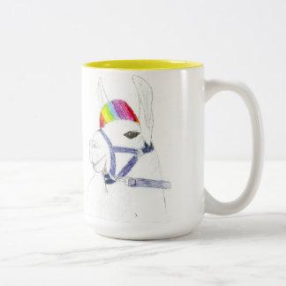 rainbow Llama Coffee Mug