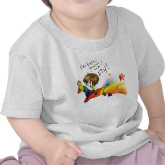 Rainbow Llama T-shirts