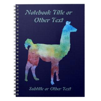 Rainbow Llamas Notebook