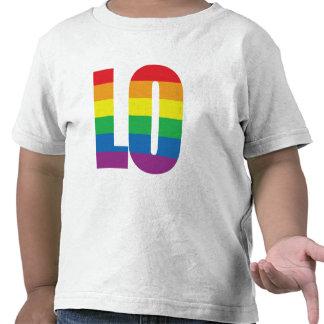 Rainbow LO-VE Tee Shirts
