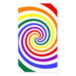 Rainbow Lollipop Business Card Template