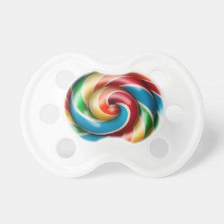 Rainbow Lollipop Pacifier