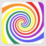 Rainbow Lollipop Sticker