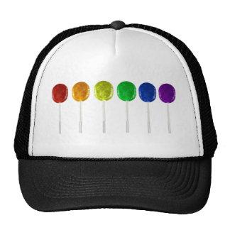 Rainbow Lollipops Trucker Hat