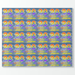 """[ Thumbnail: Rainbow Look """"20"""" & """"Happy Birthday"""", Clouds, Sky Wrapping Paper ]"""