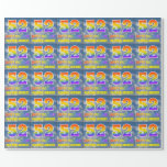 """[ Thumbnail: Rainbow Look """"52"""" & """"Happy Birthday"""", Clouds, Sky Wrapping Paper ]"""