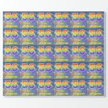 """[ Thumbnail: Rainbow Look """"56"""" & """"Happy Birthday"""", Clouds, Sky Wrapping Paper ]"""