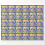 """[ Thumbnail: Rainbow Look """"68"""" & """"Happy Birthday"""", Clouds, Sky Wrapping Paper ]"""