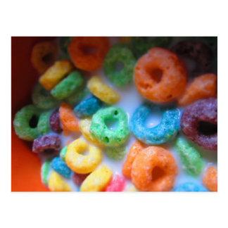 Rainbow Loops Cereal Pool Postcard