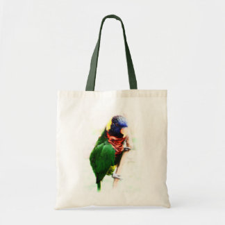 Rainbow Lorikeet Art Tote Bag