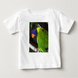 Rainbow Lorikeet Colourful parrot photograph Baby T-Shirt