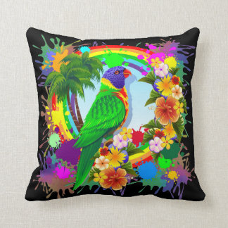 Rainbow Lorikeet Parrot Pillows