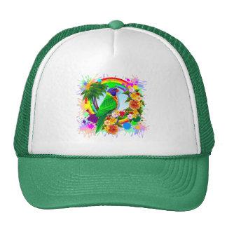 Rainbow Lorikeet Parrot Trucker Hat