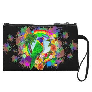 Rainbow Lorikeet Parrot Wristlets