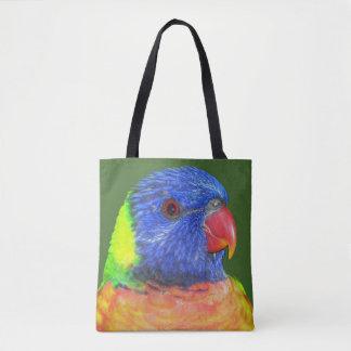 Rainbow Lorikeet Photo Tote Bag