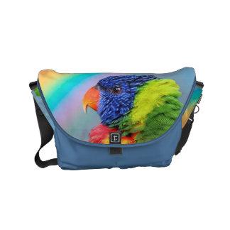 Rainbow Lorikeet Small Messenger Bag