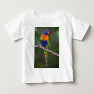 Rainbow Lorikeet Trichoglossus Haematodus Parrot Baby T-Shirt