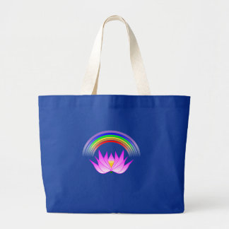 Rainbow Lotus Products Large Tote Bag