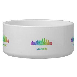 Rainbow Louisville skyline Bowl