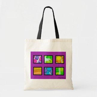 Rainbow Love Budget Tote Bag