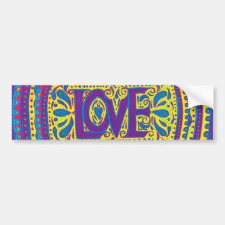 Rainbow Love Bumper Sticker