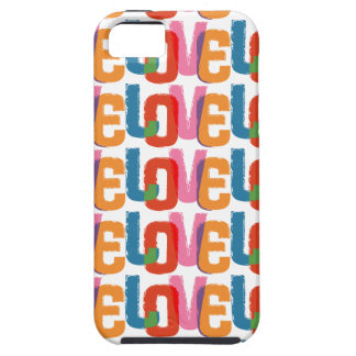 Rainbow Love Case For iPhone 5/5S