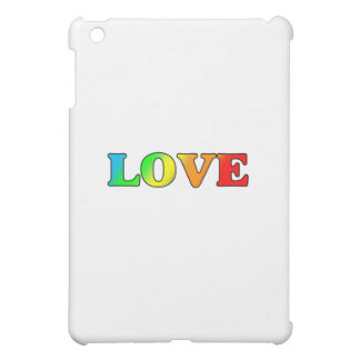 RAINBOW LOVE CASE FOR THE iPad MINI
