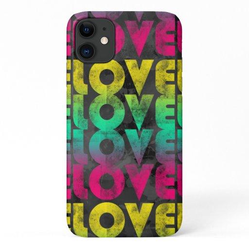 Rainbow Love iPhone 11 Case