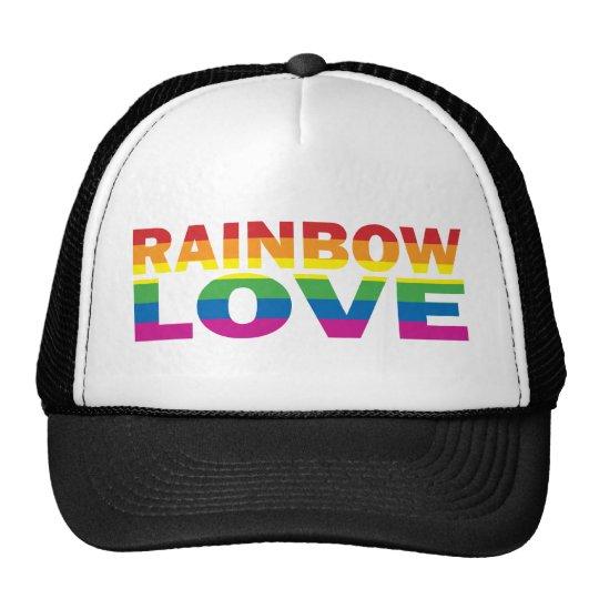 RAINBOW-LOVE GORRO DE CAMIONERO