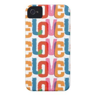 Rainbow Love iPhone 4 Case-Mate Cases