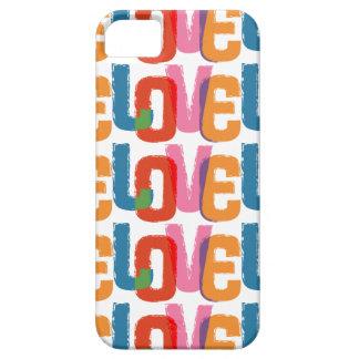 Rainbow Love iPhone 5 Covers