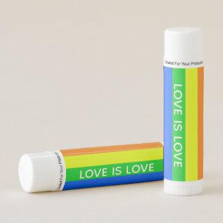 Rainbow Love is Love Lip Balm