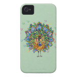 Rainbow Love Peacock iPhone 4 Cover