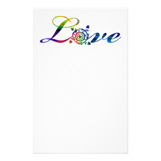 Rainbow Love Stationery