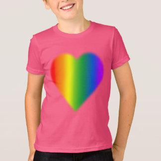 Rainbow Love T-shirt Kid's Gay Pride T-shirt Gifts