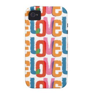 Rainbow Love Vibe iPhone 4 Case