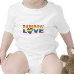 RAINBOW-LOVE.With-Hearteps Trajes De Bebé