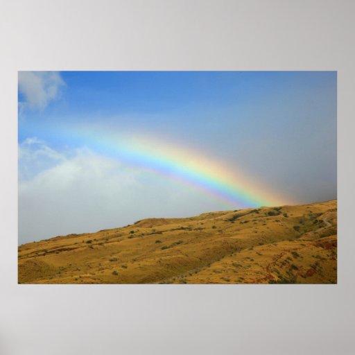 rainbow Ma alaea harbor maui Poster