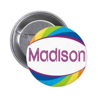 Rainbow Madison Buttons