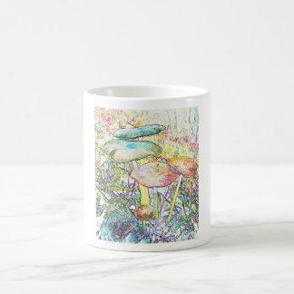 Rainbow Magic Mushrooms Mugs