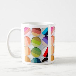Rainbow Makeup Palette - Beauty Print Coffee Mug