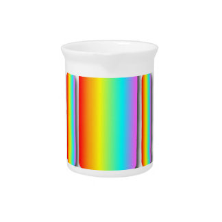 Rainbow Man Beverage Pitcher