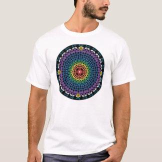 Rainbow Mandala 2 with Ring of Joy T-Shirt