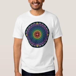 Rainbow Mandala 2 with Ring of Joy Tee Shirt