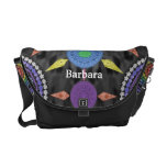 Rainbow Mandala Array Bag Courier Bag