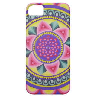 Rainbow mandala energy design iPhone SE/5/5s case