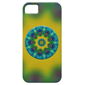Rainbow Mandala Fractal Art iPhone 5 Cases
